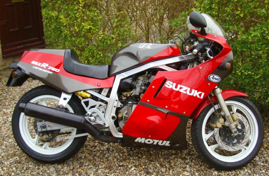 Suzuki Gsxr 750 Limited Edition – transport