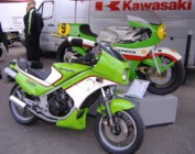 2008 Kawasaki Day at the Ace Cafe