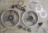 KR parts from Greece via Ebay