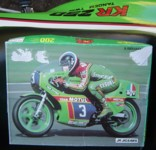 Jigsaw puzzle : Balde on the KR250 racer