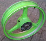 KR1 rear wheel
