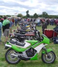 My KR250 at the 2005 VJMC Lotherton Hall Show (see Dave Marsden on the left !)
