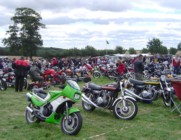 My KR250 at the 2005 VJMC Lotherton Hall Show