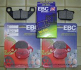full set of new EBC pads from Brakes-4U