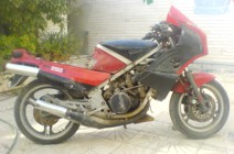 Saeid's rescued KR250S