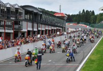 Kork at the Bikers Classic at Spa 2008