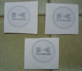 brake caliper decals from Sunrise Graphics