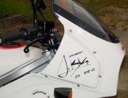 fairing autographed at the 20th Birthday Party