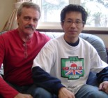 Kork with Tono at the KR Meeting 2005