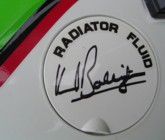 Kork autographed my radiator cap cover !