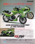 KR250 advert