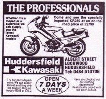 Original advert from Which Bike Jan 1985 (Thanks Gary !)