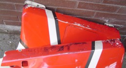 More fairing damage
