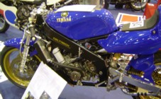 Reverse Cylinder TZ racer at the 2006 Stafford Show